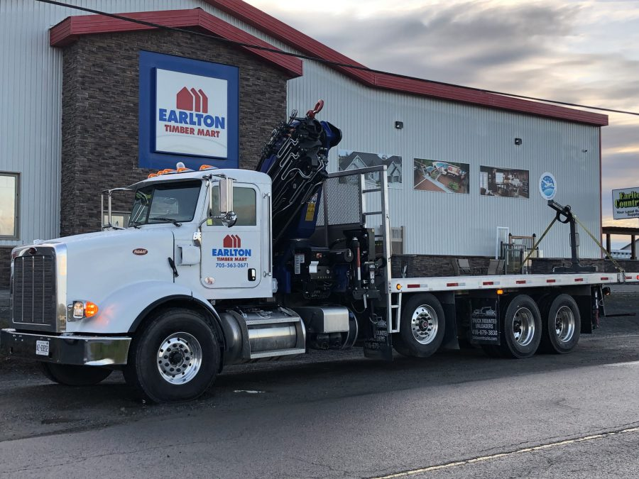 earlton timber mart - we deliver, large truck delivery page