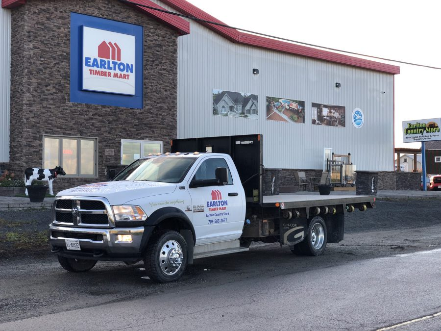 earlton timber mart - we deliver, medium truck delivery page
